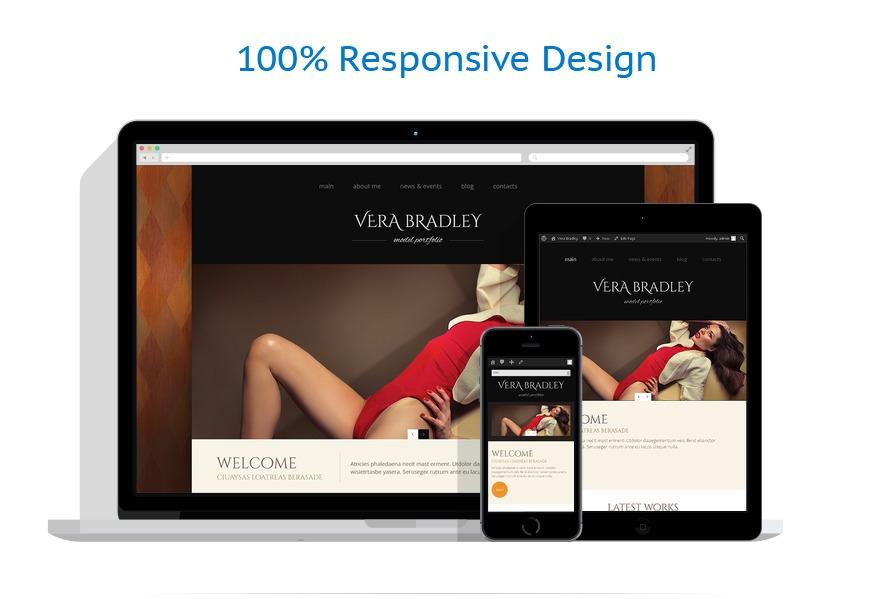 model agency wordpress theme 48789. Black Bedroom Furniture Sets. Home Design Ideas