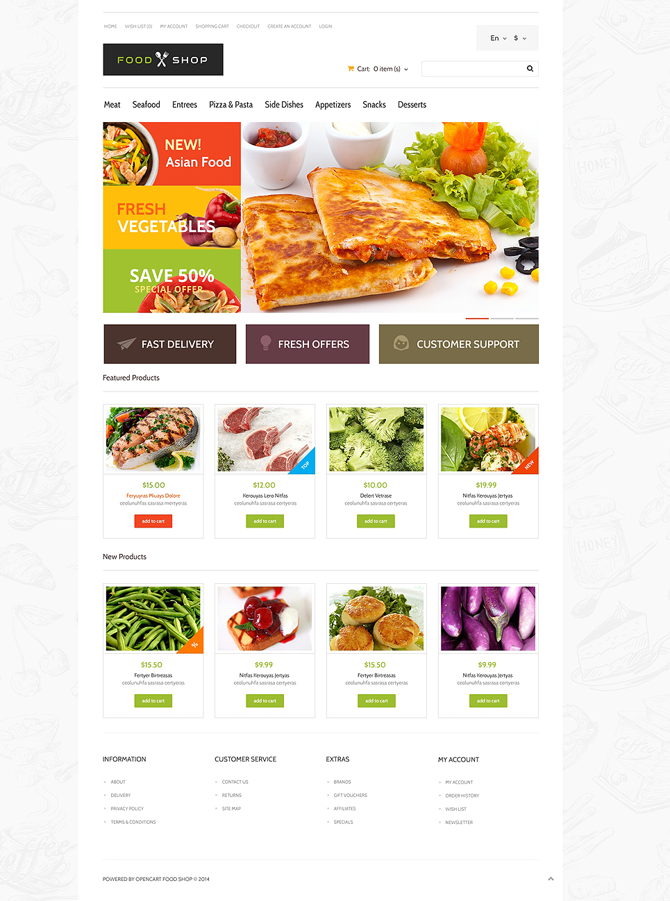 food store responsive opencart template templates buy website templates web templates online. Black Bedroom Furniture Sets. Home Design Ideas
