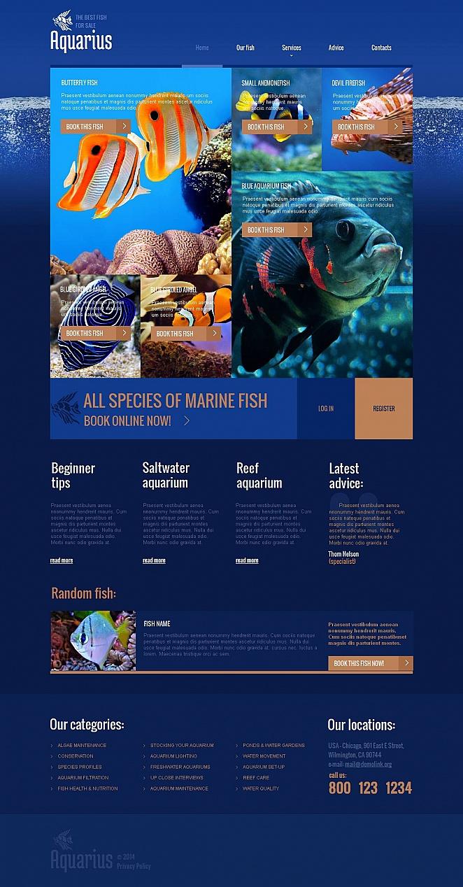 MotoCMS HTML Szablon #49040 z kategorii Zwierzęta - image