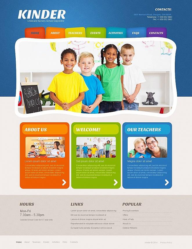 MotoCMS HTML Plantilla #49043 de categoría Familia - image