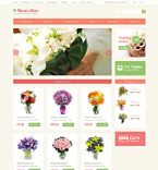 49087 Flowers, Last Added OpenCart Templates