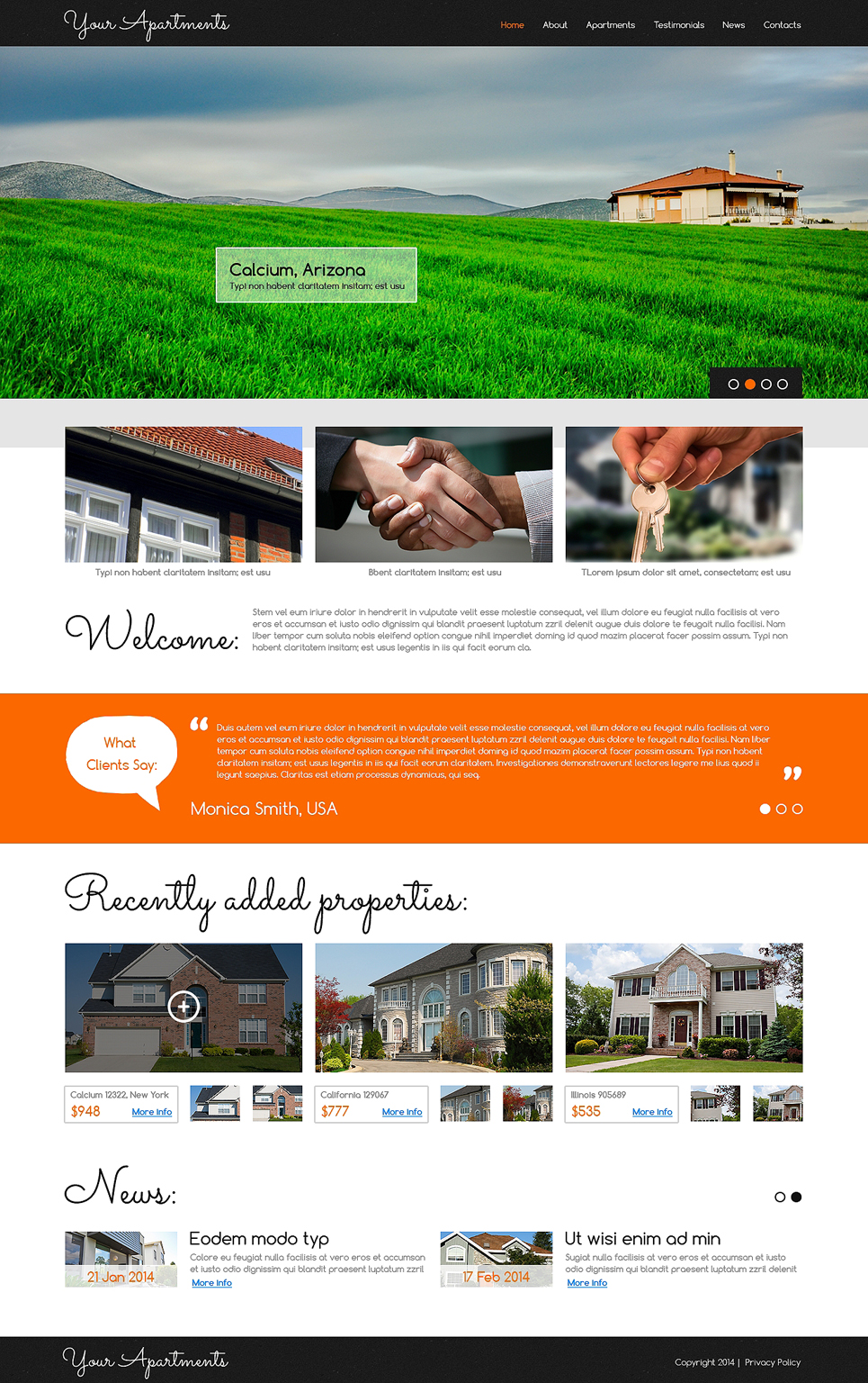 Ultimate Real Estate Agency Responsive Joomla Template