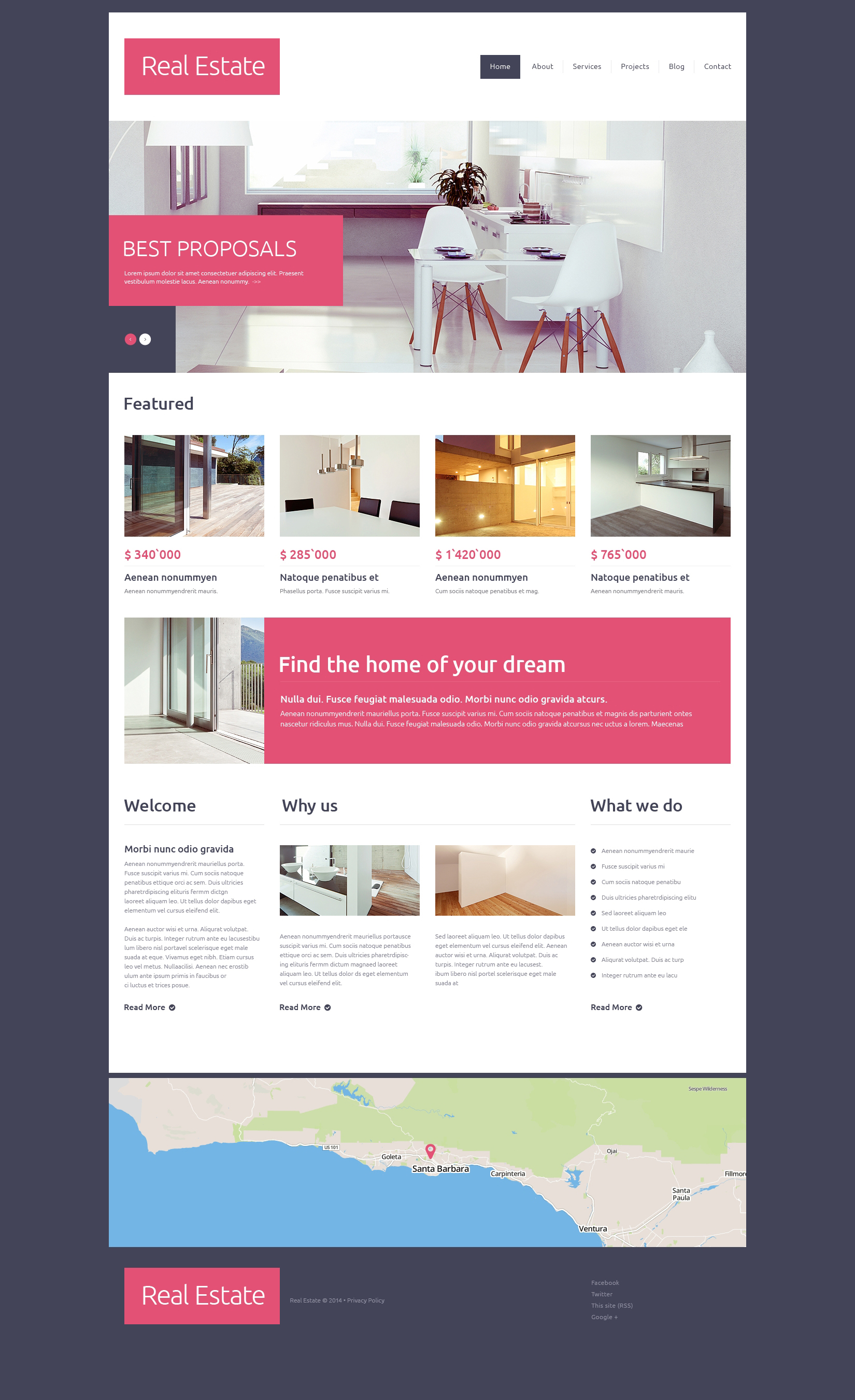 Th me drupal 49100 pour site d 39 agence immobili re for Agence immobiliere site