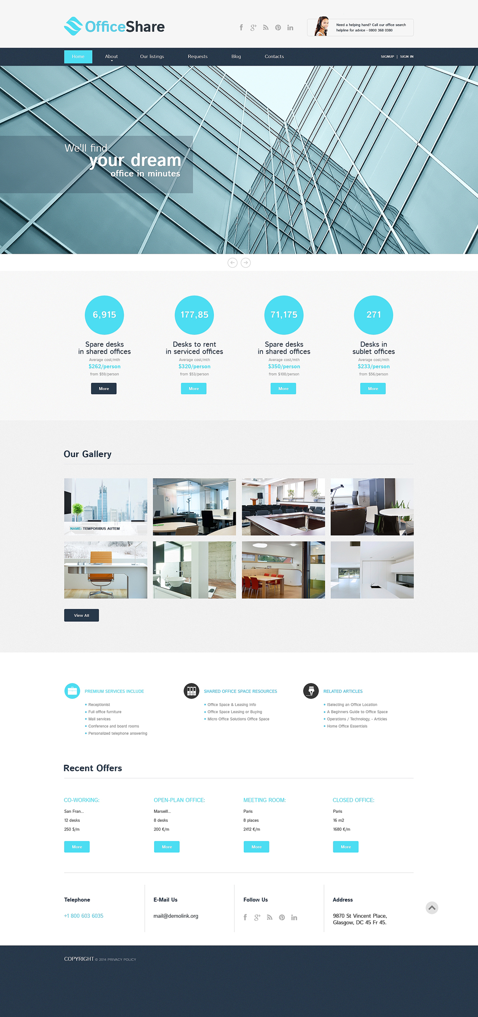 Office-Share-Responsive-Theme