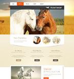 49490 Animals & Pets Website Templates