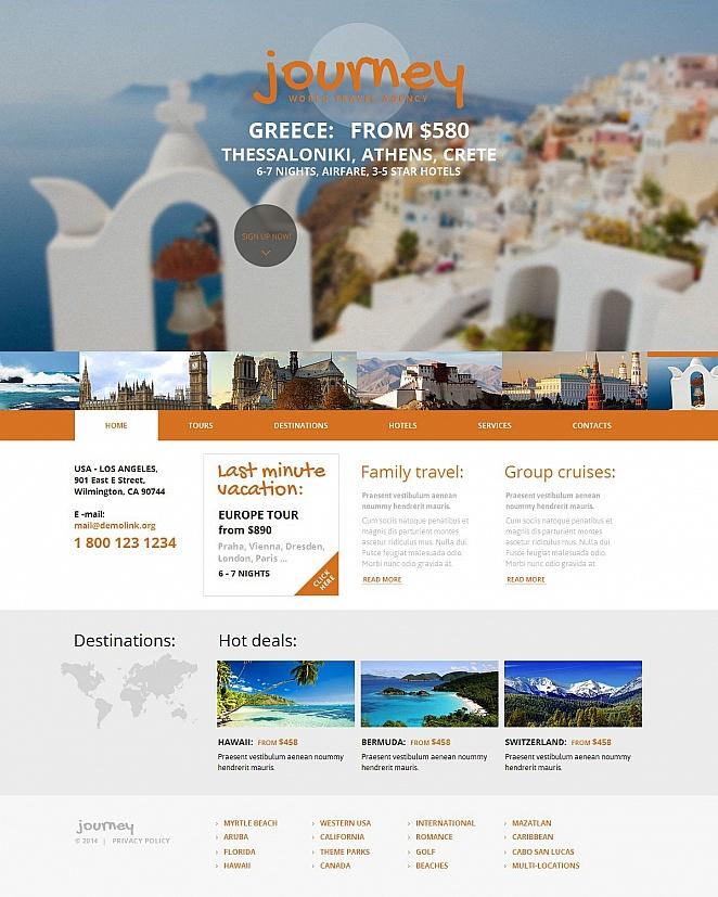 MotoCMS HTML Шаблон #49606 из категории Путешествия - image