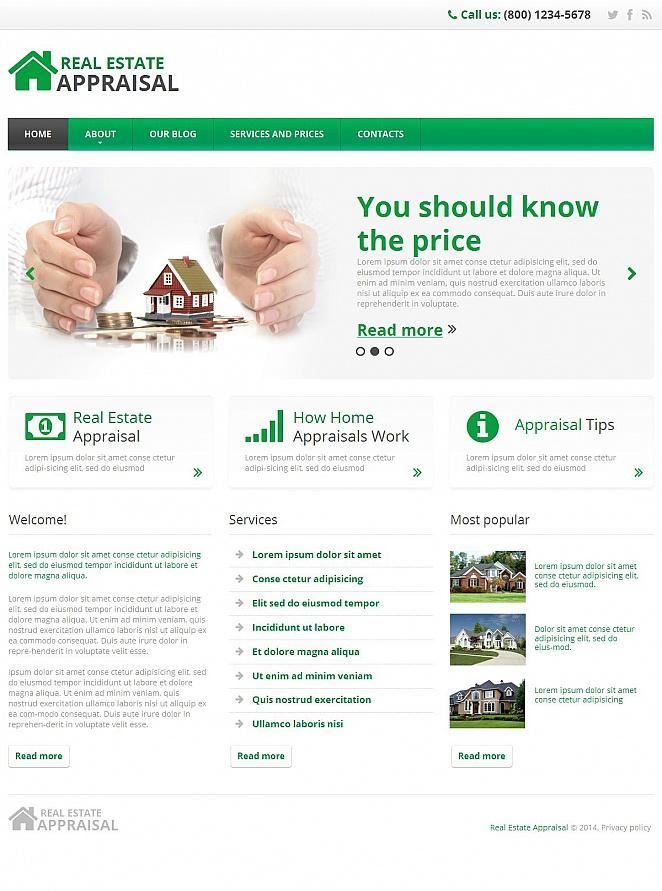 MotoCMS HTML Plantilla #49611 de categoría Inmobiliarias - image