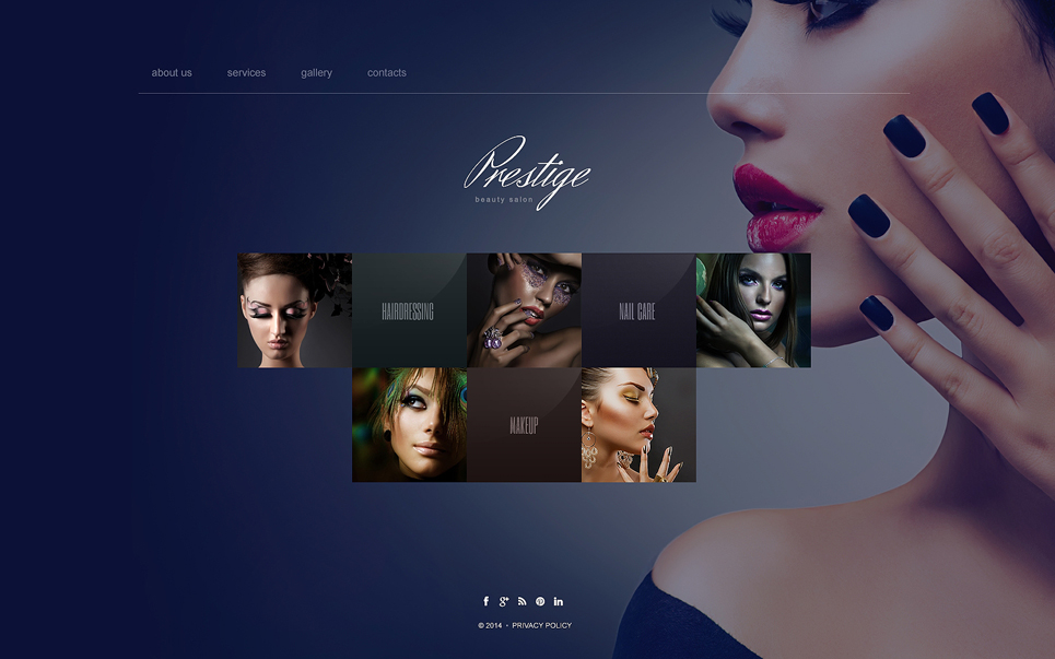 bootstrap beauty salon website template templates buy website