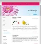 49697 Flowers, WordPress Themes PSD Templates