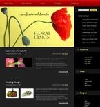 49700 Flowers, WordPress Themes PSD Templates