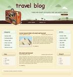 49712 Travel, WordPress Themes, Wide Templates PSD Templates