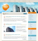 49725 Industrial, WordPress Themes, Wide Templates PSD Templates