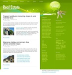 49776 Real Estate, WordPress Themes, Wide Templates PSD Templates
