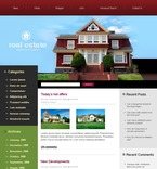 49777 Real Estate, WordPress Themes PSD Templates