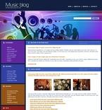 49780 Music, WordPress Themes, Wide Templates PSD Templates
