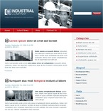49804 Industrial, WordPress Themes PSD Templates