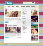 49810 Personal Pages, WordPress Themes, Wide Templates, Neutral Templates PSD Templates