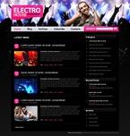 49811 Music, Most Popular, WordPress Themes, Wide Templates PSD Templates