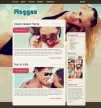 49812 Personal Pages, WordPress Themes, Wide Templates PSD Templates