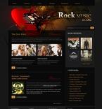 49828 Music, Most Popular, WordPress Themes, Wide Templates PSD Templates