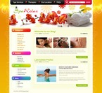 49830 Beauty, WordPress Themes, Wide Templates PSD Templates
