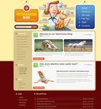 49839 Animals & Pets, WordPress Themes, Wide Templates PSD Templates