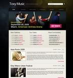 49859 Music, Most Popular, WordPress Themes, Wide Templates PSD Templates