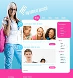49864 Personal Pages, WordPress Themes, Wide Templates PSD Templates