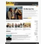 49894 Portal, Music, WordPress Themes, Wide Templates PSD Templates