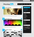 49897 Web Design, Personal Pages, WordPress Themes, Wide Templates PSD Templates