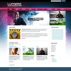 49906 Entertainment, Media, Most Popular, WordPress Themes, Wide Templates PSD Templates