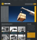 49907 Industrial, Most Popular, WordPress Themes, Wide Templates, jQuery Templates PSD Templates