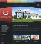49911 Real Estate, Most Popular, Flash 8, WordPress Themes, Wide Templates PSD Templates
