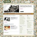 49916 Portal, Music, WordPress Themes, Wide Templates, jQuery Templates PSD Templates