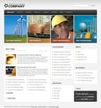 49927 Industrial, Most Popular, WordPress Themes, Wide Templates PSD Templates
