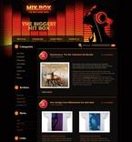 49941 Business, Music, WordPress Themes, Wide Templates PSD Templates
