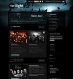49947 Music, WordPress Themes, Wide Templates, Black Templates PSD Templates