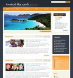 49970 Travel, Most Popular, WordPress Themes, Wide Templates PSD Templates
