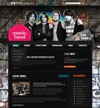 49975 Music, Most Popular, WordPress Themes, Wide Templates PSD Templates