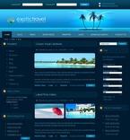 50131 Travel, Drupal Templates PSD Templates