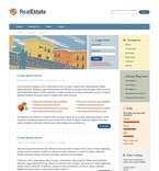 50138 Real Estate, Wide Templates, Drupal Templates PSD Templates