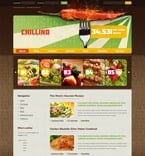 50215 Food & Drink, Wide Templates, Drupal Templates, jQuery Templates PSD Templates