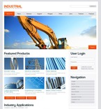 50226 Industrial, Full Site, Most Popular, Wide Templates, Drupal Templates, jQuery Templates PSD Templates