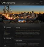 50227 Industrial, Architecture, Most Popular, Flash 8, Wide Templates, Drupal Templates PSD Templates