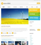 50232 Industrial, Flash 8, Wide Templates, Drupal Templates PSD Templates
