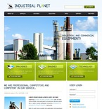 50239 Industrial, Flash 8, Wide Templates, Drupal Templates PSD Templates