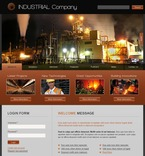 50250 Industrial, Most Popular, Flash 8, Wide Templates, Drupal Templates PSD Templates