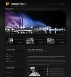 50271 Industrial, Flash 8, Wide Templates, Drupal Templates PSD Templates