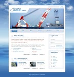 50276 Industrial, Most Popular, Flash 8, Wide Templates, Drupal Templates PSD Templates