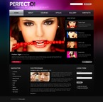50322 Beauty, Wide Templates, Drupal Templates, jQuery Templates PSD Templates